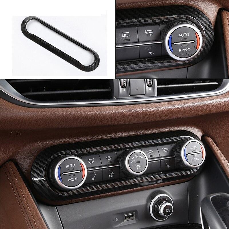 Full set of High quality carbon fiber Interior modification Accessories case for Alfa Romeo Giulia Car styling