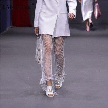 Diamond Fishnet Pants 3