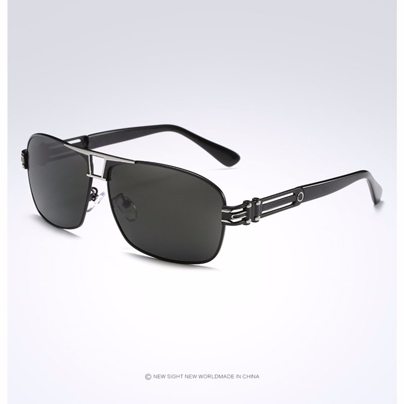 Roupai Polarized Super Cool Military Glasses For Police Driving Mens Square Anti Glare Sunglasses UV400 377 (14)