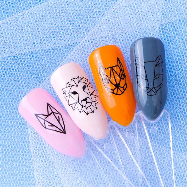 40pcs Watermark Slider Nail Stickers Decal Water Transfer Tattoo Flower Butterfly Decoration Manicure Adhesive Tip JISTZ608-658