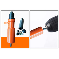 New Electric Insert Rivet Nut Pop Riveting Drill Tool Cordless Nozzle Riveted Pneumatic Blind Adapter Riveting Tool