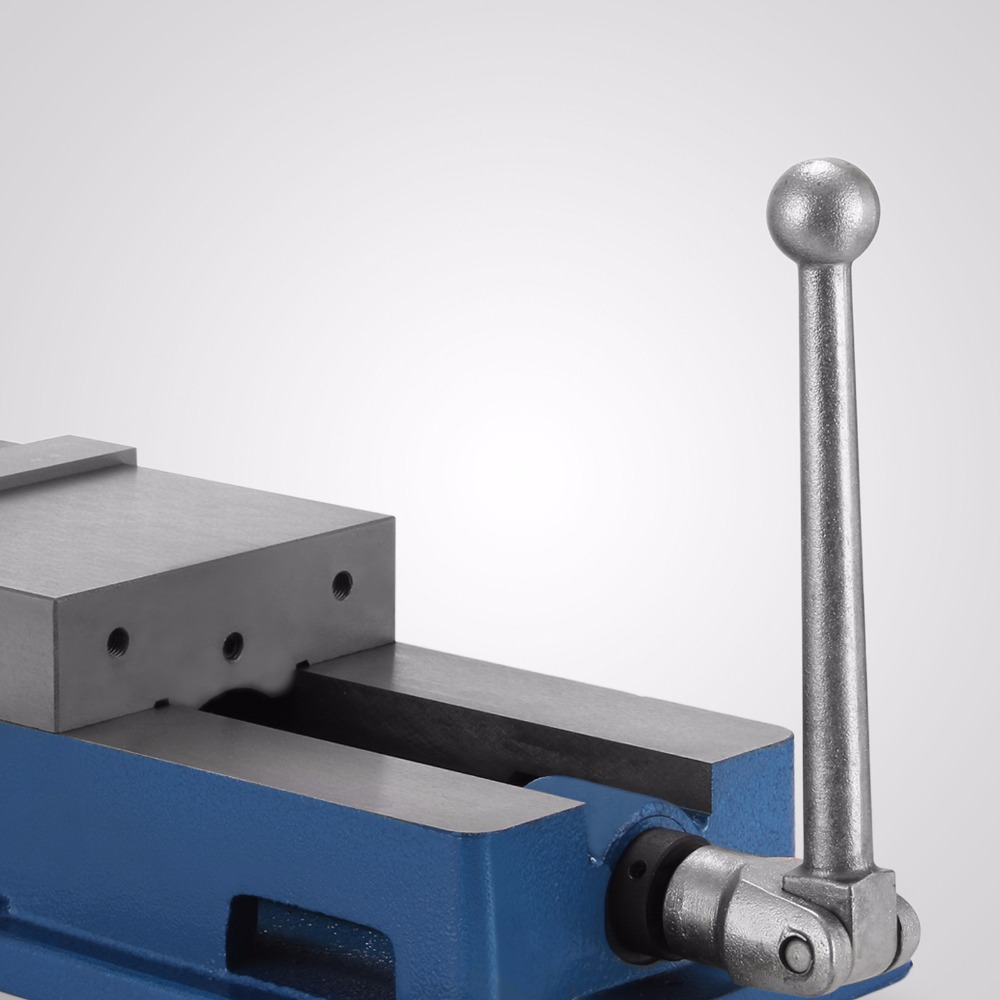 Durable Milling Vise 6 Inch ACCU Lock Vise with 6 Inch Jaw Width Milling Drilling Machine Lock Down Vise Bench Clamp cnc double screw rod cylinder milling machine accessories hydraulic vise vise accessories hydraulic clamp fittings