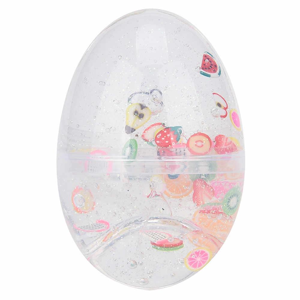ביצה צבעוני רך רפש רפש ריחני הפגת מתחים צעצוע בוצה צעצועי פלסטלינה צעצועי ילד C