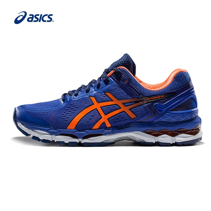 Original ASICS GEL-KAYANO 22 Men's Stability Running Shoes Sports Shoes Sneakers Outdoor Walkng jogging Sneakers Comfortable цены онлайн
