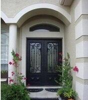 Кованая Железная дверная фурнитура входная дверь ворота