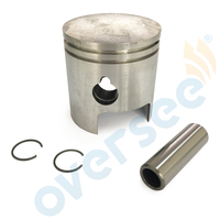 PISTON KIT RING SET Fit Tohatsu Nissan Outboard M NS 9 9HP 15HP 351 00001 55MM