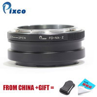 Pixco FD For Nikon Z,Newest For Canon FD Mount Lens to Suit for Nikon Z Mount Camera Adapter Ring, For Nikon Z6 Z7