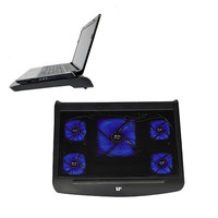 Laptop Cooling Pad Angle Adjustable Cooling Pad For 11 17inch Laptop Cooler With Five Quiet Fans
