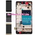 Lcd + tp + quadro para huawei ascend p8 lite p8 mini display lcd + touch screen digitador assembléia com moldura peças frete grátis + ferramentas