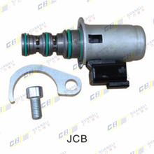 JCB excavator rotating solenoid valve 459/M2874 25/20804 Lead safety lock digger parts 25 104700 group hydraulic solenoid directional valve 12v for jcb 3cx 25 103000