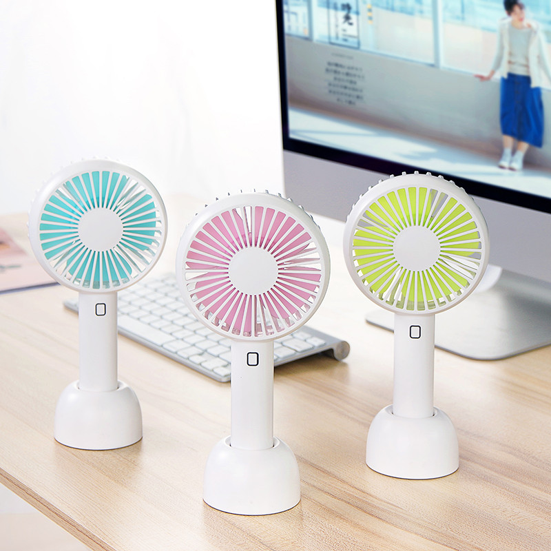 Dritte Gears 2000 Mah Tragbare Mini Fan Natürliche Wind Handheld Elektrische Usb Aufladbare Fan Luftkühlung Für Hause Im Freien Dc 5 V