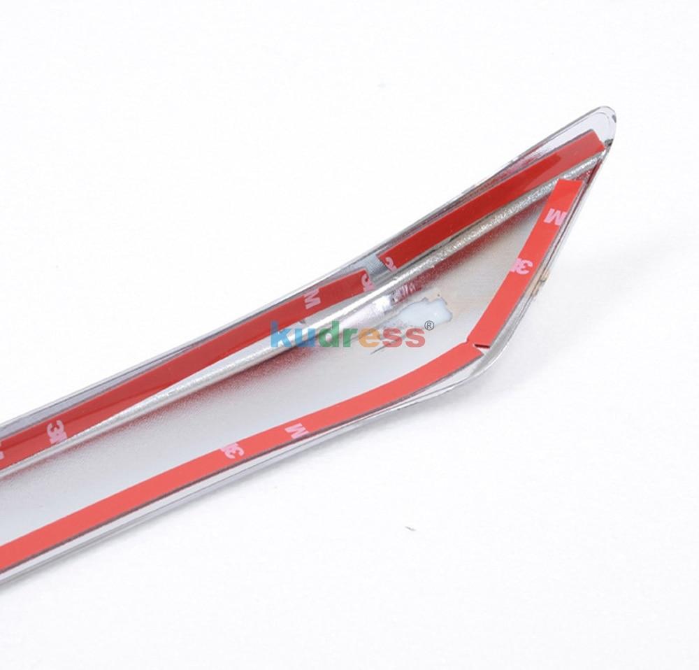Для Mazda 3 Axela M3 Mazda 3 2013 ABS Хромированная передняя решетка решетки бампера защитная накладка авто аксессуары 1 шт
