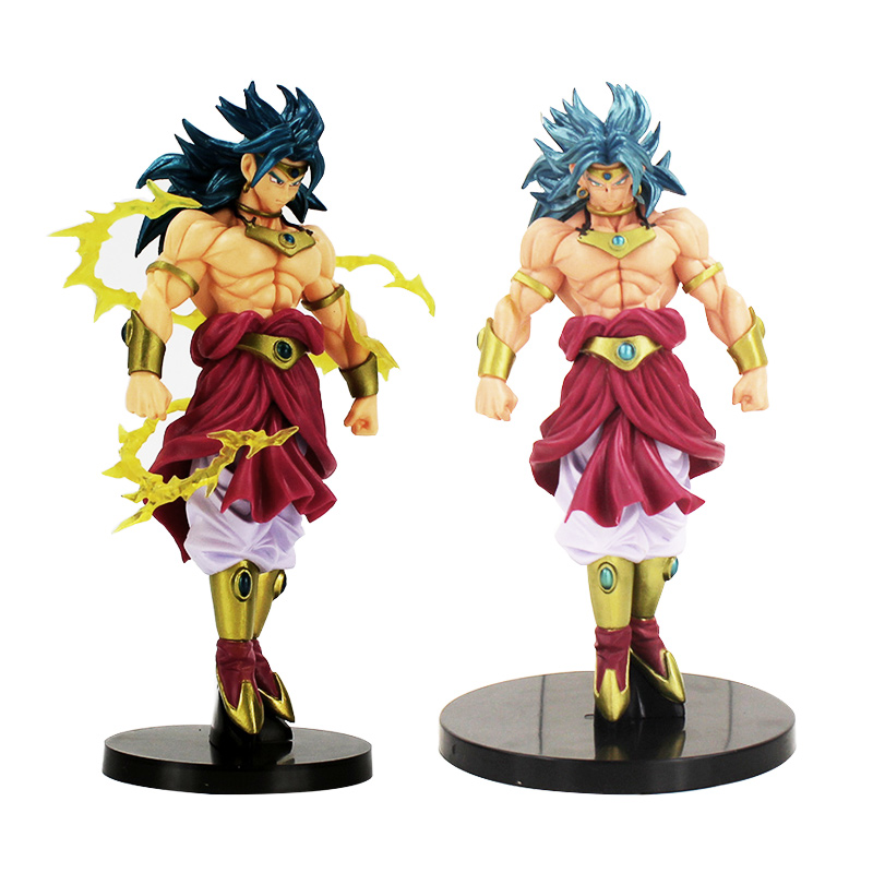 18cm Anime Dragon Ball Z Figure Sculptures Big Budoukai 7 vol.3 Broly PVC Action Figure Dragonball Broly Toys Gift 18cm dragon ball z action figure goku and gohan deification rama ver dragonball pvc toys 18cm free shipping