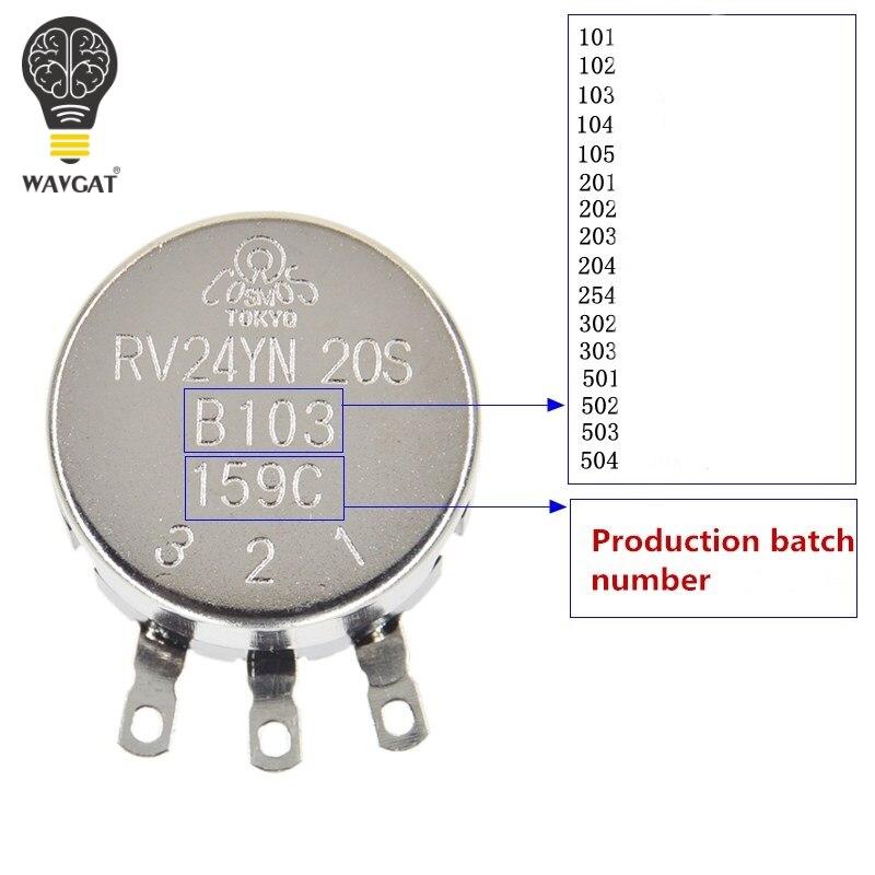 RV24YN20S B303/30/K Ohm potenziometro