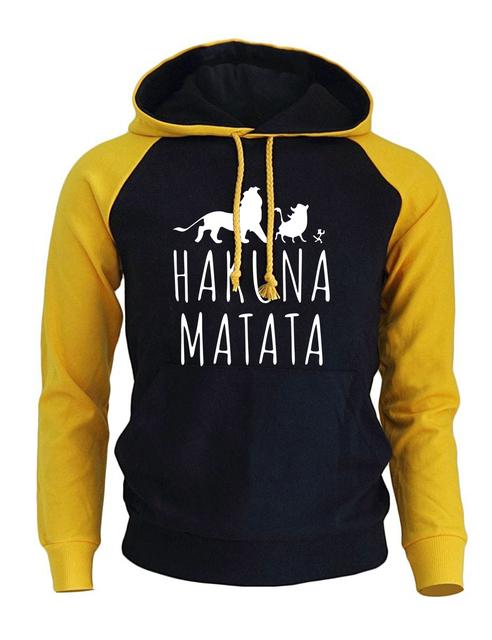 Funny Print HAKUNA MATATA Streetwear Hoodie