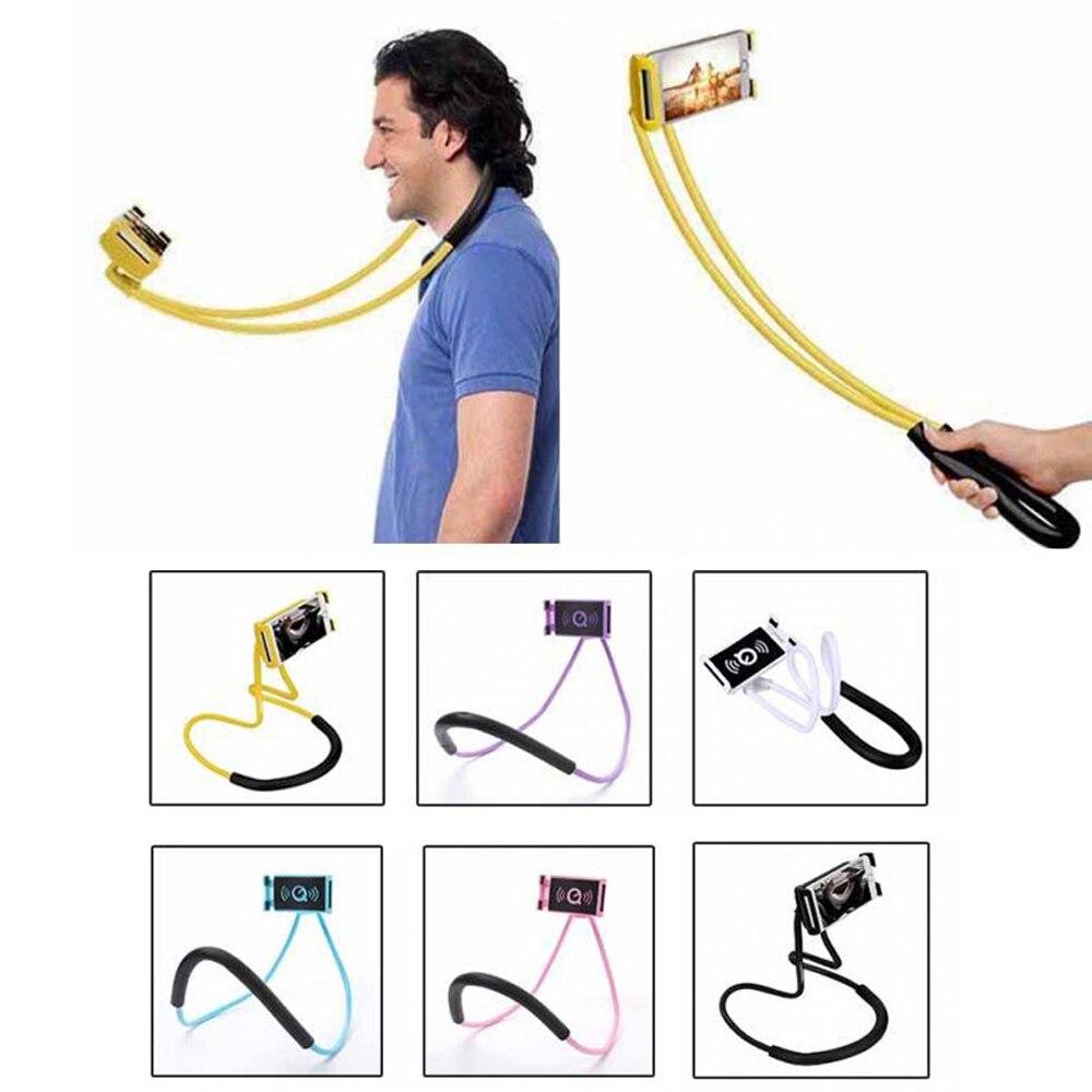 Paresseux cou téléphone titulaire stand flexible support Universel pour iphoen 6 7 8 samsung galaxy s5 s7 s8 plus xiaomi mobile phon titulaire