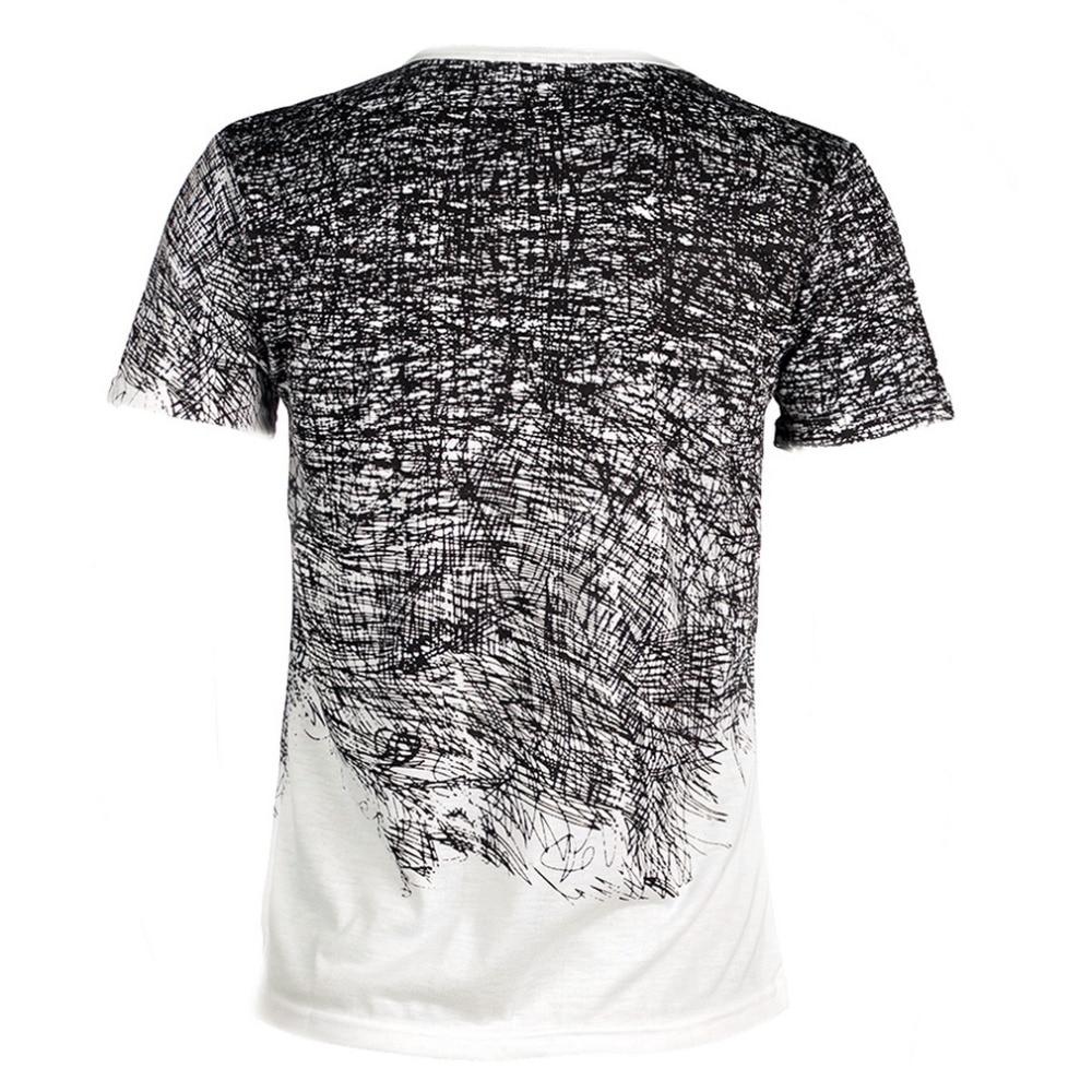 2018 Ny mand T-shirt Sommertøj Tee Camisetas Herre Bomuld Kortærmet - Herretøj - Foto 2