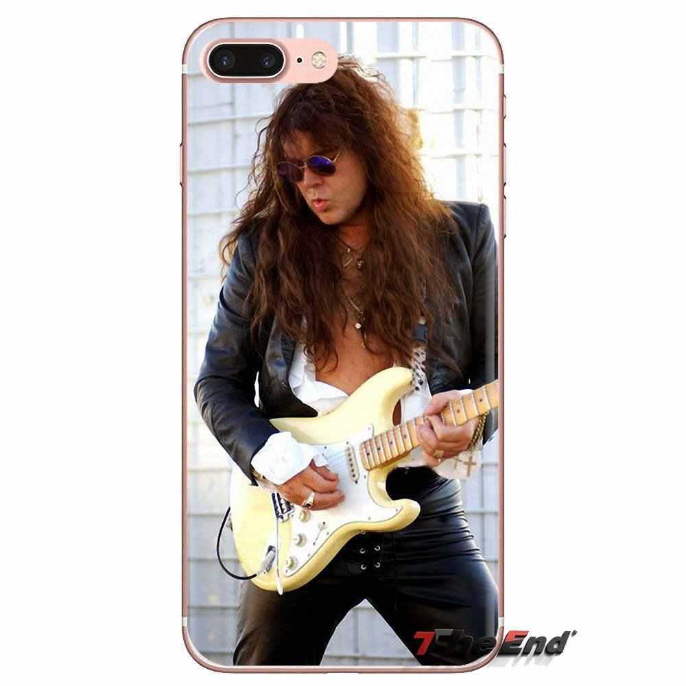 Para Huawei Nova 2 3 2i 3i Y6 Y7 Y9 primer Pro GR3 GR5 2017, 2018 de 2019 Y5II Y6II Yngwie funda de bolsa de silicona para guitarra de hombre Sexy Malmsteen