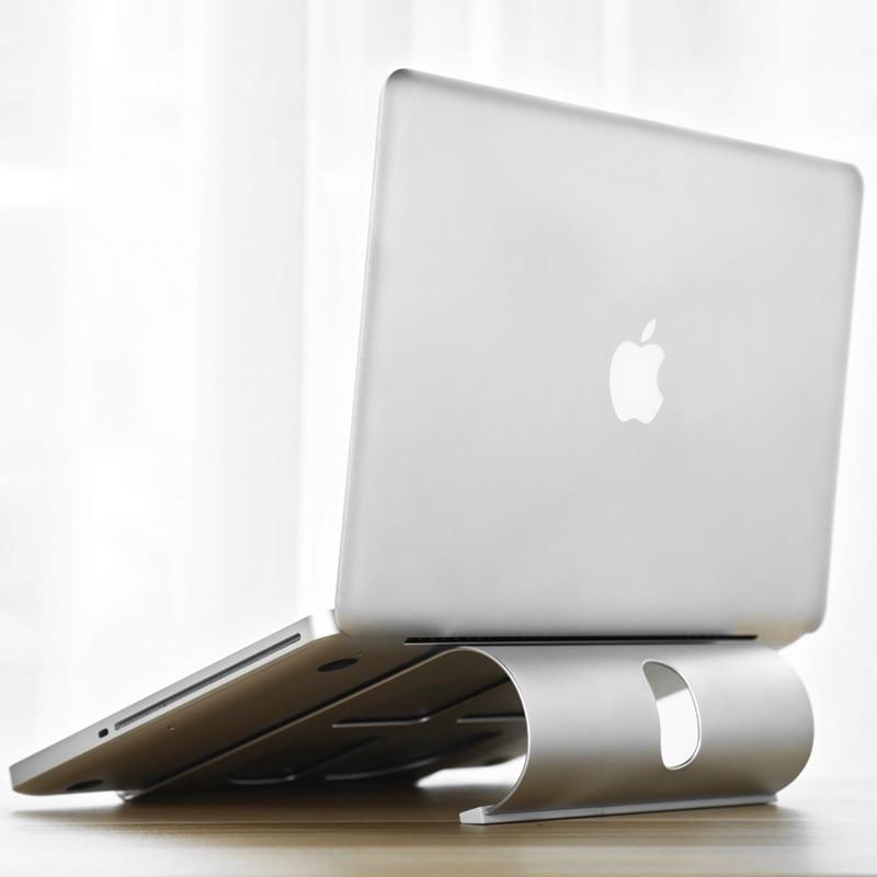 Алюминий подставки Рабочий стол Док держатель кронштейн ОХЛАДИТЕЛЬ охлаждающая подставка для MacBook Pro/Air/IPad/iPhone/ тетрадь/таблетки/ПК/смартфон