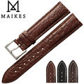 MAIKES Luxury Alligator Watch Band Case For IWC ZENITH Longines Genuine Crocodile Leather Watch Strap For Men & Women