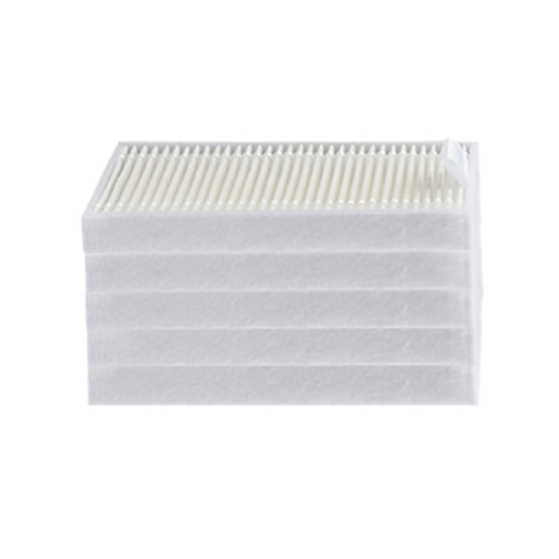 5 Pieces/lot Robot Vacuum Hepa Filter For Cleanmate QQ6 QQ6S Robotic Vacuum Cleaner Parts Accessories Replacement HEPA Filter