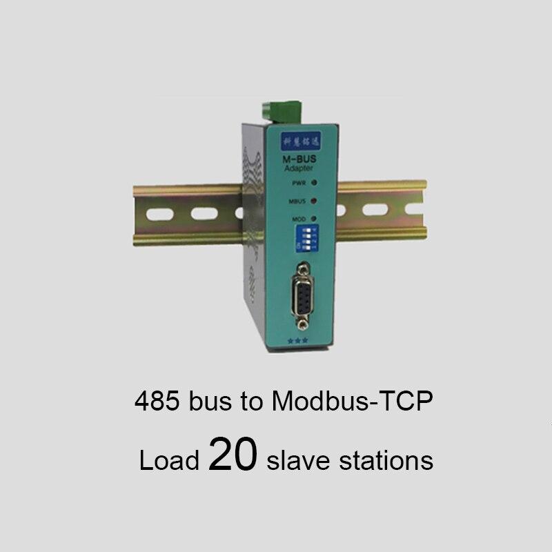 MBUS/M-BUS @ 485 Bus à MODBUS-TCP convertisseur Ethernet 20 KH-MT-485 de charge