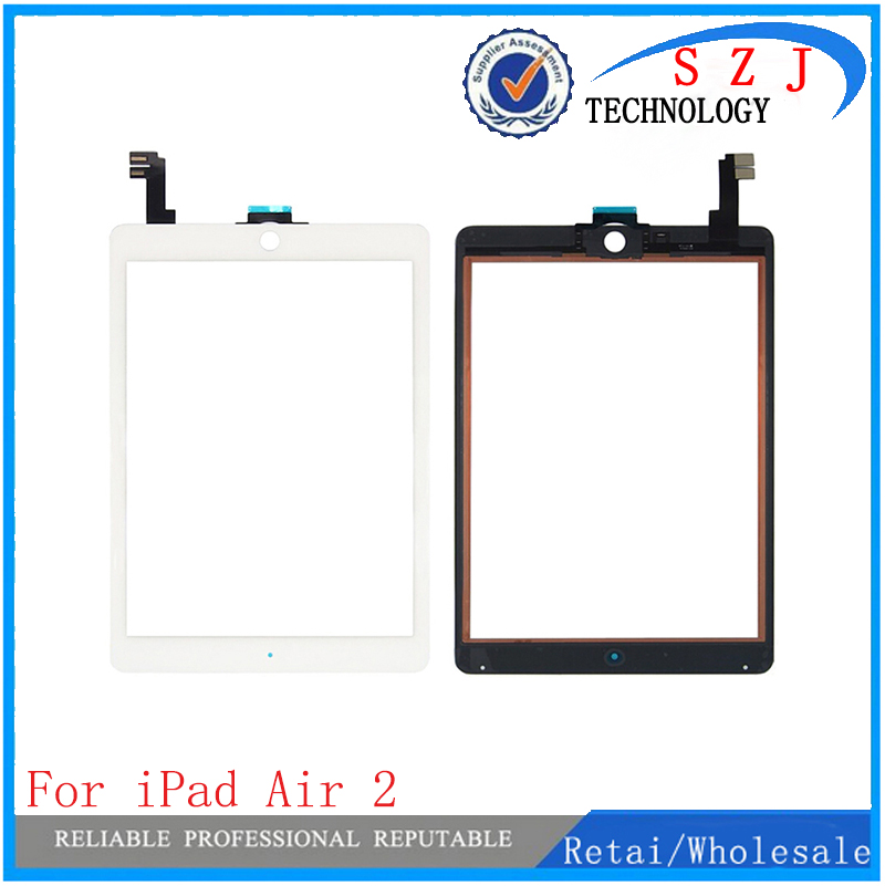 New 9.7'' inch For Ipad air2 touch screen glass digitizer front Glass Digitizer panel original touch screen for ipad6 5pcs set tested new original white black 7 9 inch for ipad mini 3 digitizer touch front glass lcd panels screen repair part