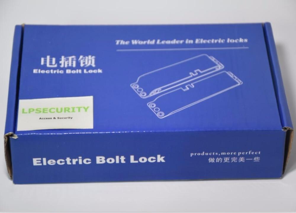 NEW Electric Bolt Lock Timer Drop Bolt Lock Fail-safe Electric Gate Door Lock
