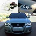 For NISSAN ALMERA CLASSIC N16 B10 2006-2009 Excellent angel eyes Ultrabright illumination CCFL Angel Eyes kit Halo Ring