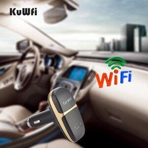 Image 5 - Caricabatteria da auto sbloccato 150Mbps LTE 4G Router Wireless LTE Wifi Modem Hotspot per auto con Slot per schede Sim supporto 10 utenti per condividere Wifi