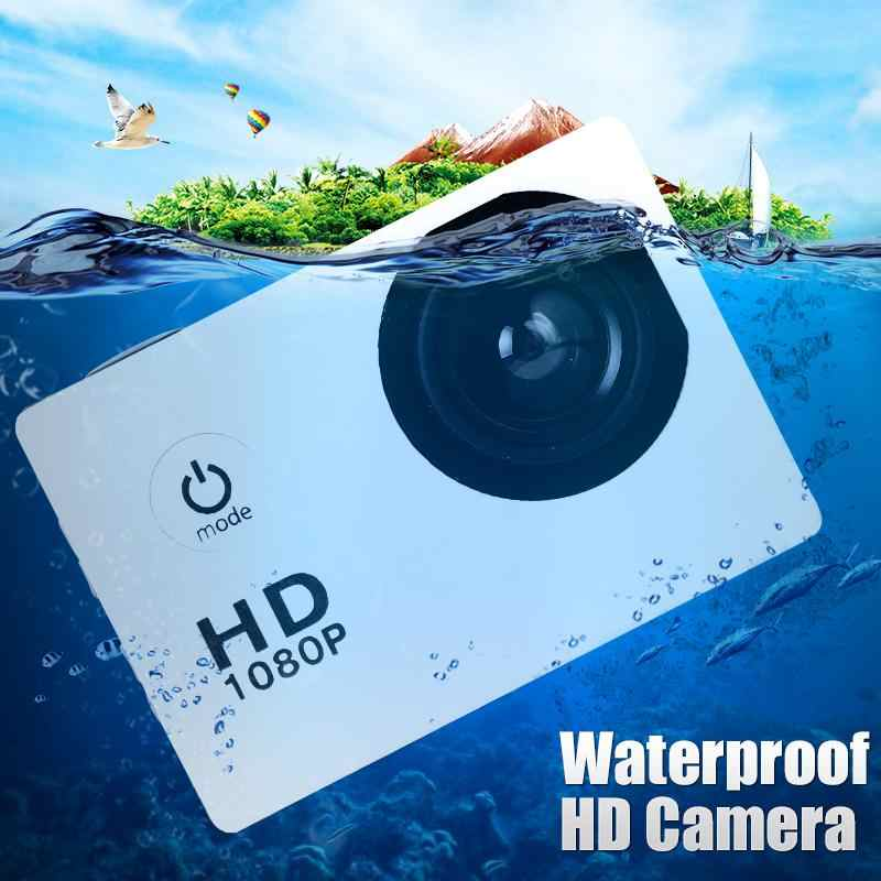 Video Camera Outdoor Waterproof Sports HD 1080P 2.0inch High Definition Screen Camera 900mAh