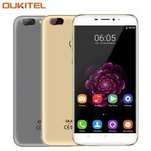 """D'origine OUKITEL U20 Plus 4G Mobile Téléphone RAM 2 GB ROM 16 GB MTK6737T Quad-Core 5.5 """"Android 6.0 Double Objectif Retour Caméra Smartphone"""