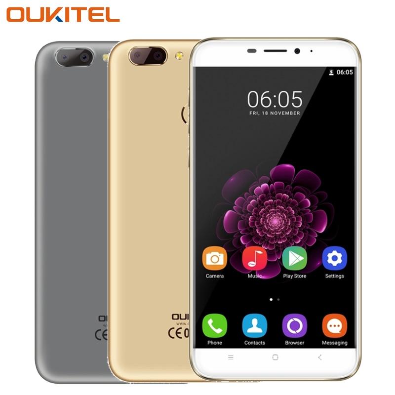 Original OUKITEL U20 Plus 4G Mobile Phone RAM 2GB ROM 16GB MTK6737T Quad Core 5 5