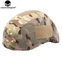 EMERSONGEAR FS Style Helmet Cover Protective Helmet Cover Hunting Airsoft Military Camo MICH 2001 Cover EM8814