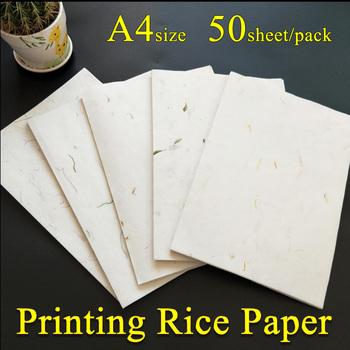 A4 drukowanie Yunlong papier ryżowy chiński obraz kaligrafia Xuan papier malowania dostaw na płótnie stacjonarne tanie i dobre opinie Malarstwo papier TAI YI HONG EH-0235 Chińskie malarstwo ripe rice paper 50 sheet pack