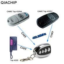 Duplicador de portão de garagem qiachip, duplicador de 433.92 mhz com controle remoto superior 432ev TOP 432NA top432na para chave de garagem