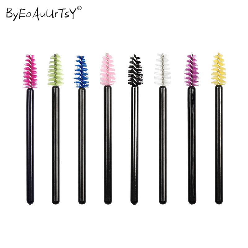 Eyelash Comb Applicator Mascara Wands Disposable Micro Removing-Swab Individual-Lash title=