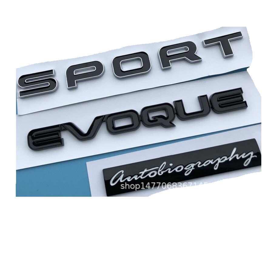 RANGE ROVER AUTOBIOGRAPHY SPORT EMBLEM REAR LIFTGATE BADGE back sign symbol logo