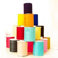 500yards Roll 6mm Organza Ribbon Wholesale Gift Wrapping Decoration Christmas Ribbons For Wedding Gift Pack Decoration
