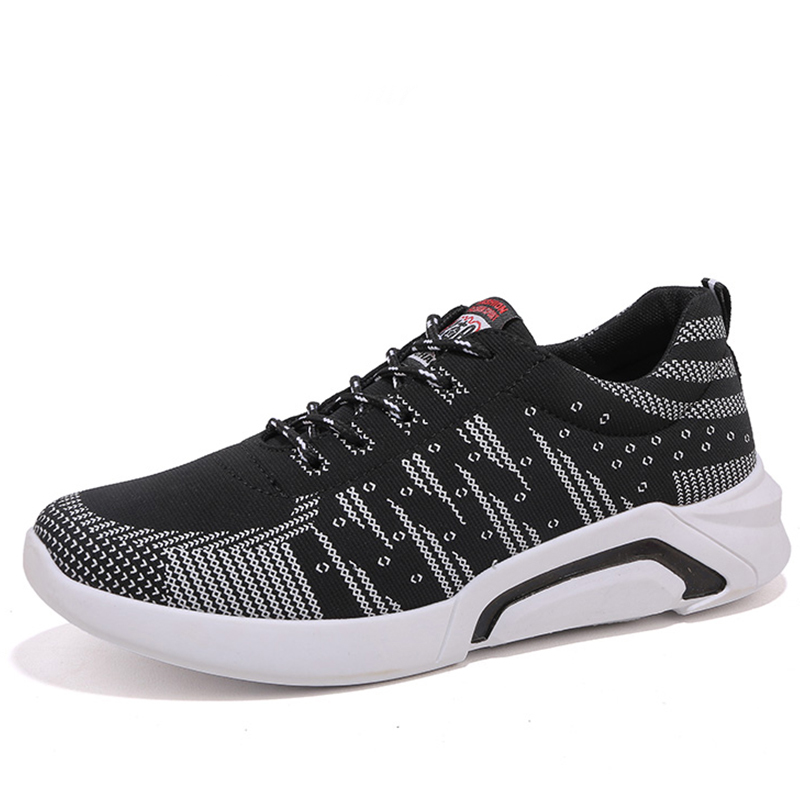 Men Running Shoes Fly Weaving Knitted Man Sneakers Jogging air Comfort Run Arena Shoes Chaussure Sport Homme