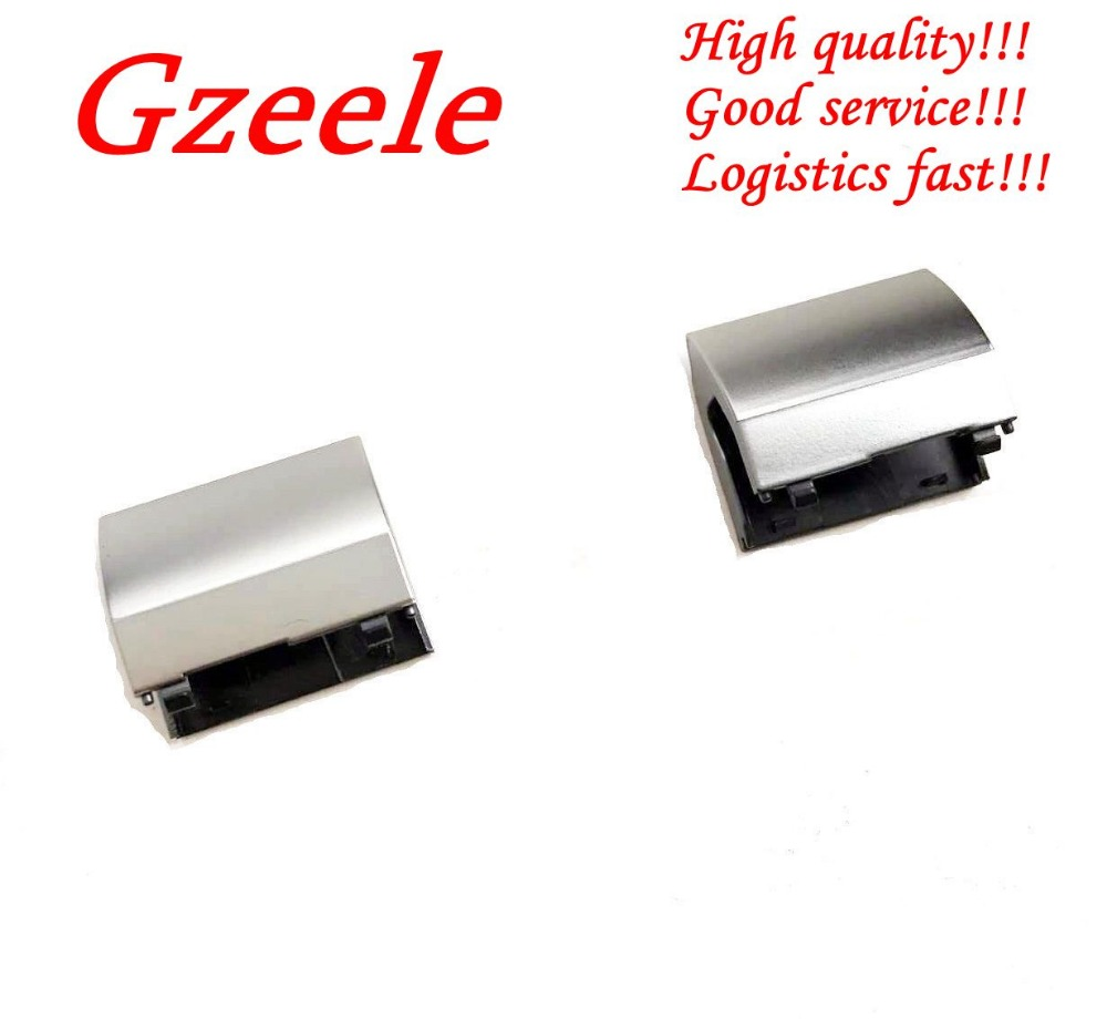 GZEELE New FOR Dell Inspiron 15R - 5521 5537 5535 3521 3537 3535 LCD Hinge Cover Silver