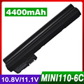 4400mAh laptop battery for HP Mini 110 Mi 110 XP 110-1000 110-1100 102 110c-1000 110c-1100 CQ10-100 CQ10-110 CQ10-120 CQ10-130