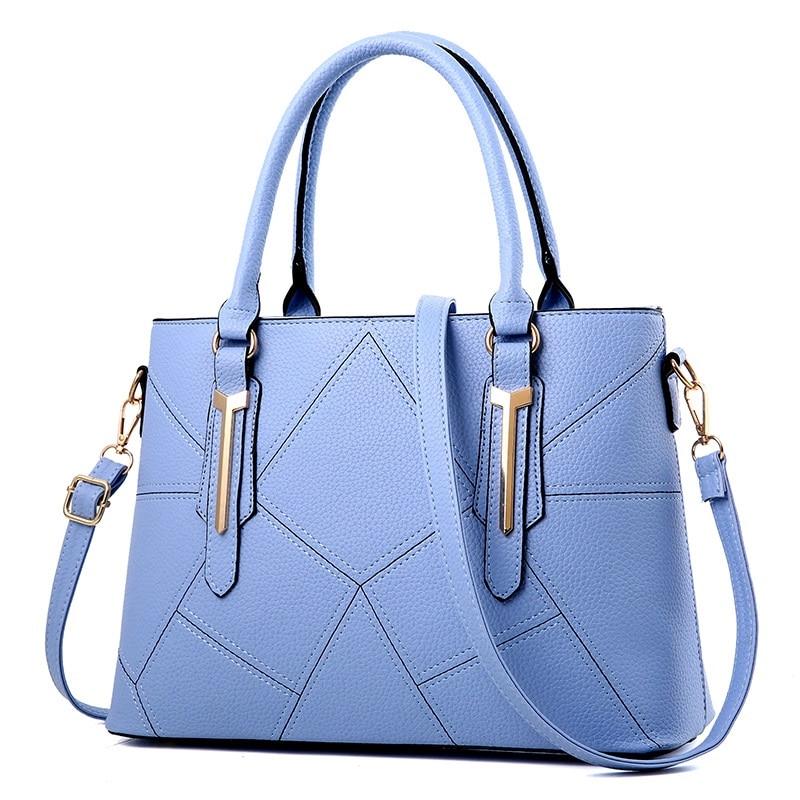 Модные новые стильные женские сумки 2019 кожаная сумка мессенджер тоут роскошная