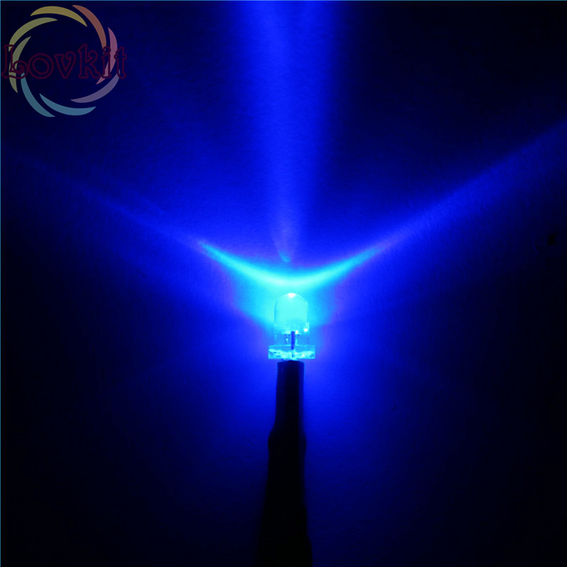 20 x LED Pre wired 12v 5mm Orange Amber Flashing Blinking Strobe LEDs 12 volt