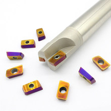 APMT1604 PDER 10 PCS + 1 PCS BAP400R C25 25 250 2 T titular ferramentas de fresamento cortador de carboneto de Moagem inserir para