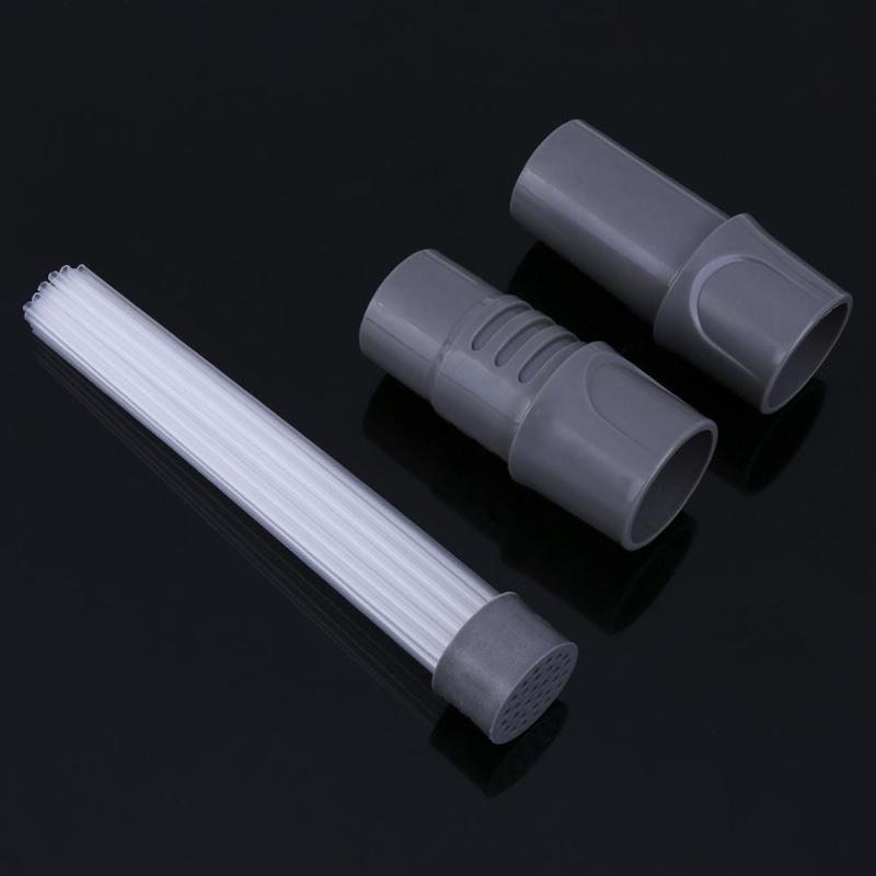 multi-functional straw tube dusty brush cleaner and dirt remover with universal vacuum attachment