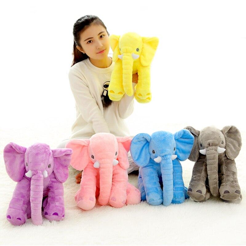 40CM Elefant Säugling Plüsch Puppe Baby Soft beschwichtigen Spielzeug
