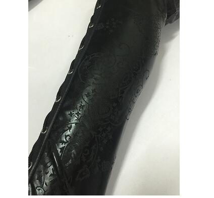 HTB10sfrSpXXXXcaXXXXq6xXFXXXw Sexy Faux Leather Lace Up Leggings