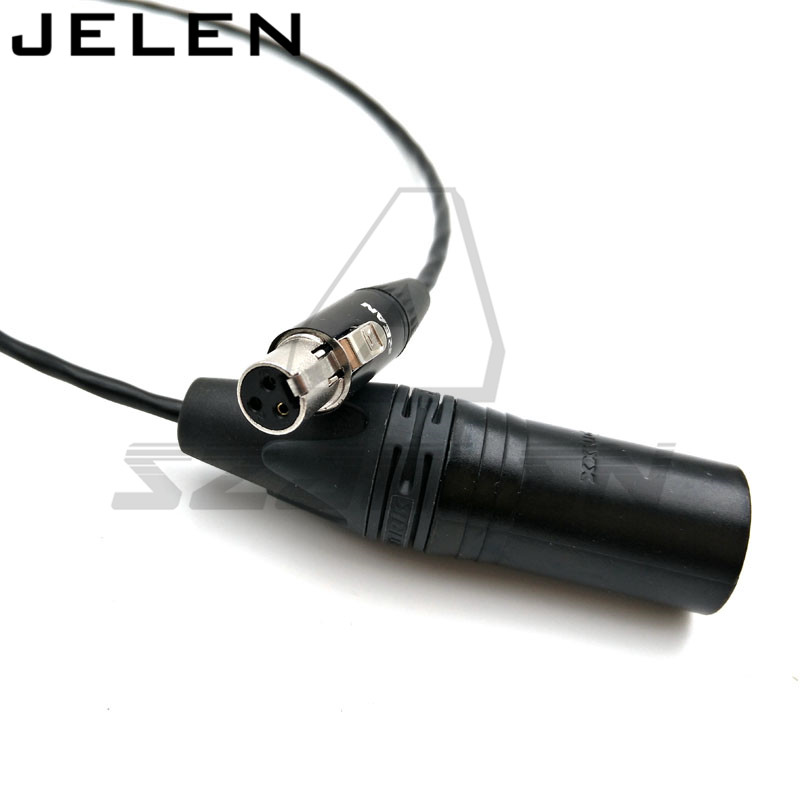 Audio equipment audio conversion line, mini XLR 3 pin female tp XLR 3pin Male  50cm 1pcs lot md6f line md6 female mouse and keyboard to 4p terminal line 50cm