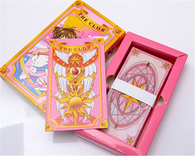1pcs Variety Sakura Magic Tarot Playing Cards Cosplay Props Anime